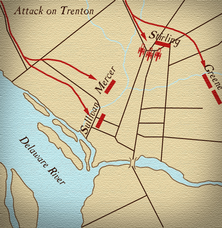 Battle of Trenton Maps